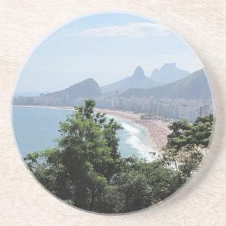 Copacabana Strand in Rio Getränkeuntersetzer