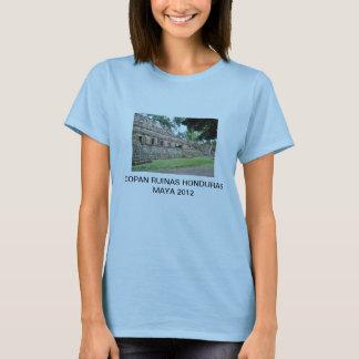 COPAN RUINAS HONDURAS MAYA 2012 T-Shirt