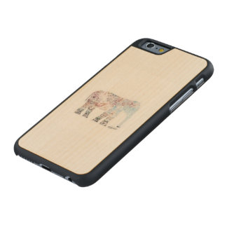 Coque Iphone 6 boho Carved® iPhone 6 Hülle Ahorn