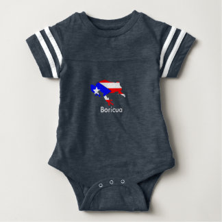 coqui Flagge Baby Strampler