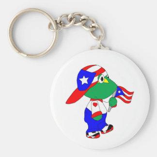 Coqui Puerto Rico Stolz Schlüsselanhänger