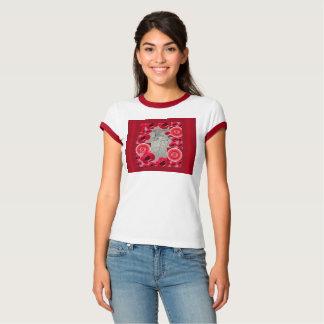 Corazon Entwurf vom Zeichnen durch Beth Vallory T-Shirt