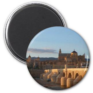 Cordoba, Spanien Runder Magnet 5,7 Cm