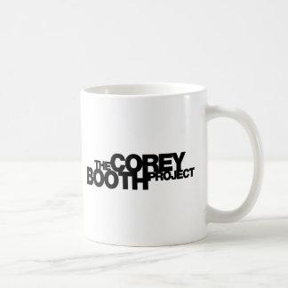 Corey Stand-Projekt Merch mit weißem oder Kaffeetasse