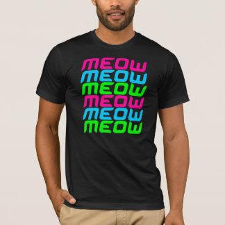 Corey Tiger-80er MeowMeowMeowMeowMeowMeow T-Shirt