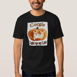 Corgi 2 leuchten meinem Leben Hemden