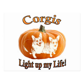 Corgi 2 leuchten meinem Leben Postkarten