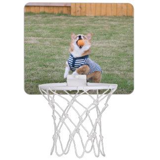 Corgi-Basketballkorb Mini Basketball Netz