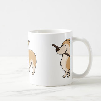 Corgi cartoonw Stock Kaffeetasse