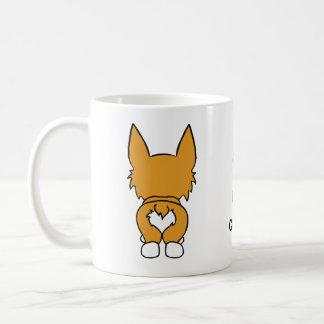 Corgi-Liebe Kaffeetasse