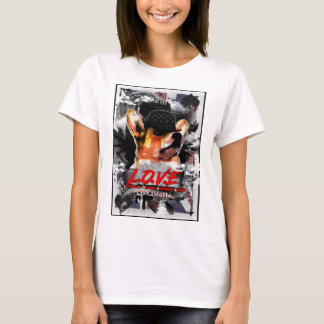 Corgi-Mafia-Brite LIEBE International-T-Shirt T-Shirt