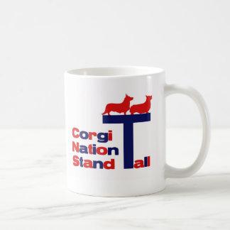 Corgi-Nations-Stand hoch Kaffeetasse