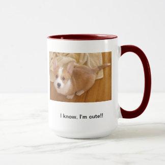 Corgi-Niedlichkeits-Tasse Tasse