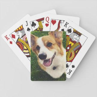 Corgi-Plattform der Spielkarten