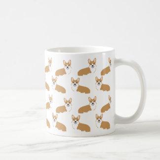 Corgi-Tasse - niedlicher Corgisentwurf Kaffeetasse