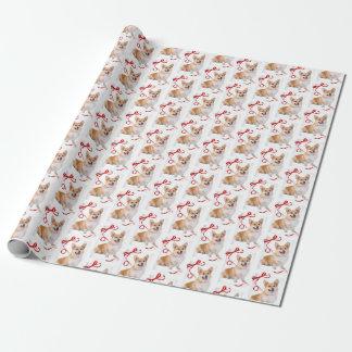 Corgi-WeihnachtsPackpapier Geschenkpapier