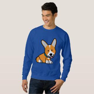 CorgiCorgis verfolgen Welpenhündchen glücklichen Sweatshirt