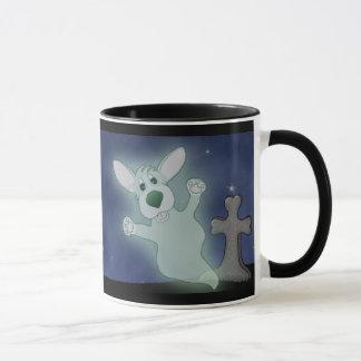 Corgigraveyard-Geist-Tasse (voller Wickelrock) Tasse