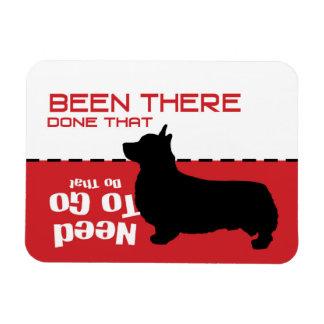 Corgihund gegangener Potty-Magnet - lassen Sie den Magnet