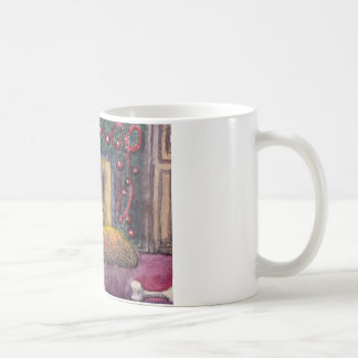 Corgihundefestliches Träumen Kaffeetasse