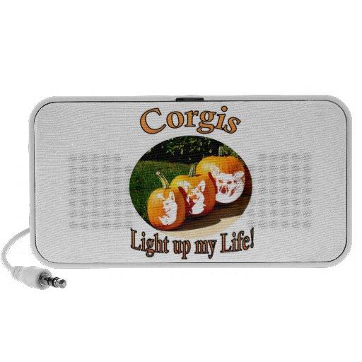 Corgis leuchten meinem Leben 3 iPod Lautsprecher
