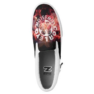 """CorleyQ """"Feuer-"""" Plattform-Schuhe Slip-On Sneaker"""