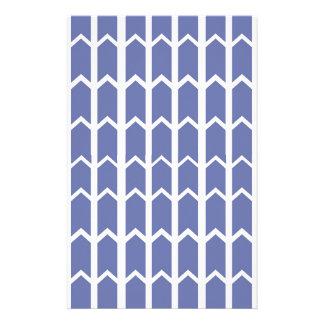 Cornflower-blauer Platten-Zaun Briefpapier