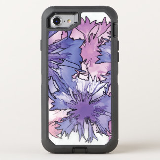 Cornflower-Collage OtterBox Defender iPhone 8/7 Hülle