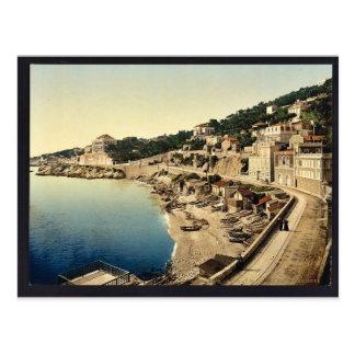 Corniche Straße, I, Vintages Foto Marseilles, Postkarte
