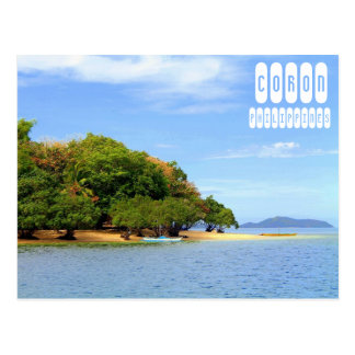 Coron Strand Postkarte
