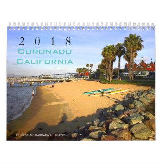 Coronado CA Kalender, 12 ursprüngliche Fotos Kalender