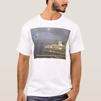 Coronado Inselansicht der Bucht T-Shirt