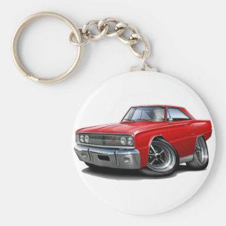 Coronet Funktelegrafie-Rot-Auto 1967 Schlüsselanhänger