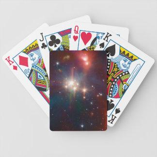 Coronetdie infrarotSternhaufen NASA Bicycle Spielkarten
