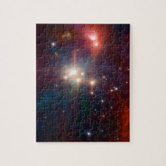 Coronetdie infrarotSternhaufen NASA Puzzle
