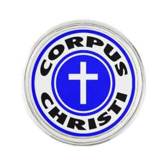 Corpus Christi Anstecknadel