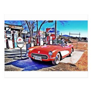 Corvette 66 postkarte