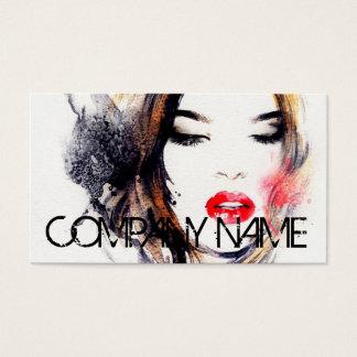 Cosmetologistcosmetology-Make-upkünstler elegant Visitenkarte