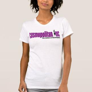 Cosmo Logo-Spaghetti-Bügel-Behälter T-Shirt