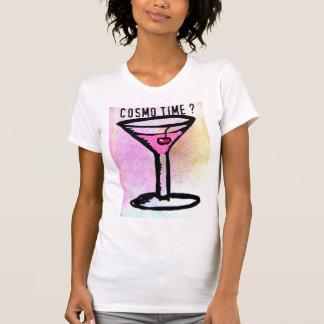 COSMO ZEIT-MARTINIpastellkunst-DRUCK T-Shirt