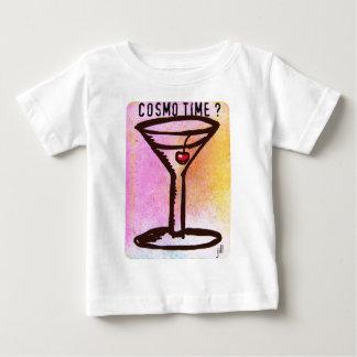 COSMO ZEIT-PASTELLmartini-60erdruck durch Jill Baby T-shirt