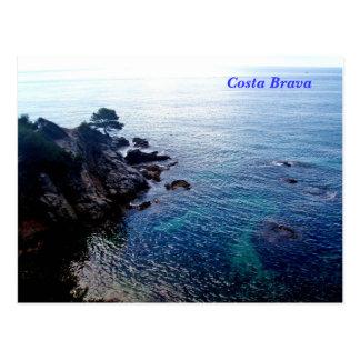 Costa Brava Postkarte