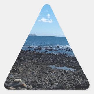 Costa Caleta, Feurteventure Dreieckiger Aufkleber
