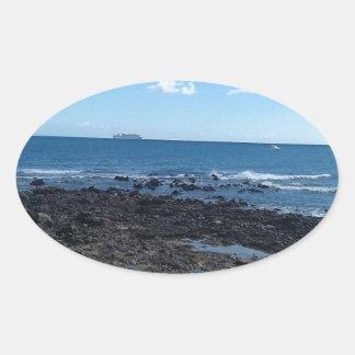 Costa Caleta, Feurteventure Ovaler Aufkleber