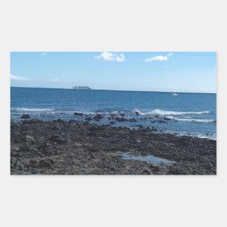 Costa Caleta, Feurteventure Rechteckiger Aufkleber