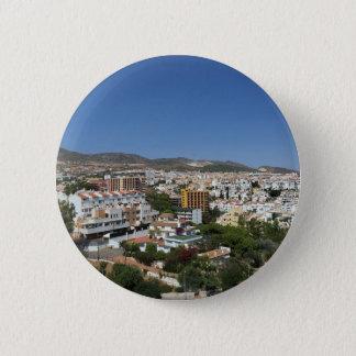Costa del Sol Runder Button 5,1 Cm