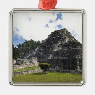 Costa-Maya Chacchoben Mayaruinen Silbernes Ornament