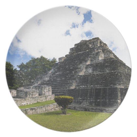 Costa-Maya Chacchoben Mayaruinen Teller