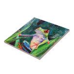 Costa Rica-Baum-Frosch Keramikfliese