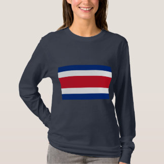 Costa Rica Fahne T-Shirt